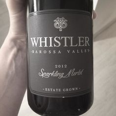 Special occasions call for special #drinks  This #sparklingred has travelled a long long way from #australia to #germany. We keep an eye on it and appreciate every single drop of it.  | #whistler #whistlerwines #red #redwine #sparkling #southaustralia #barossavalley #wine #winelover #australianwine #travel #downunder #travelling #travelgram #wanderlust #drop #sparklingwine #drink #drinkresponsibly #drinking