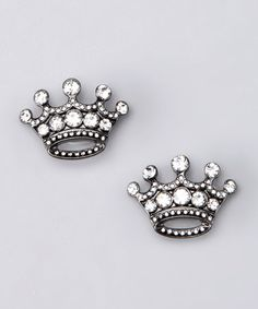 Take a look at this Clear Crown & Jewel Small Charm by FlipOut Sandals on #zulily today!