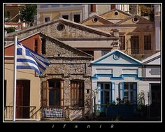 SYMI through the eyes of ifanik Small Island, Amazing Places, The Good Place, Greece, Europe, Colours, Mansions, Eyes, House Styles