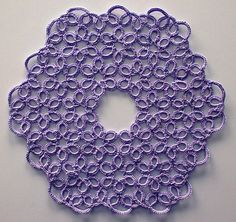 free pattern for little doily or big coaster (17/19cm) = Lavendura pattern by Viviane Deroover