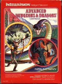 Advanced Dungeons and Dragons for Intellivision