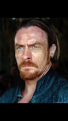 Captain Flint - a ginger, in the Caribbean? What was he thinking.