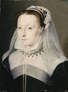 Portrait of a woman, studio of François Clouet (c. 1550-1600)