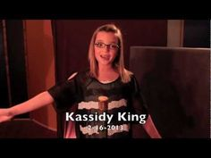 "Kassidy King sings a yodeling tune ""Wide Rollin' Plains"""