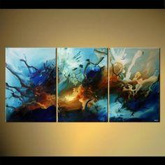 modern abstract art - Celestial Pearl