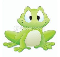 Cartoon Frog | Cartoon Frog — Stock Vector © mumut #9308449