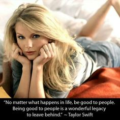 She changed so many lives from when she started it all, that is 8 years ago. We'll love & admire her forever. Happy Birthday Taylor Swift. ♥ (: