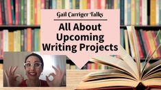 Gail Carriger talks about struggling to write during 2020; how she got out of the slump; and where she is now with new projects. Etiquette And Espionage, Gail Carriger, Book Signing, Bestselling Author, Romance, Writing, Books, Projects, Events