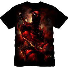 Marvel Men's Dead Pool Short Sleeve Tee