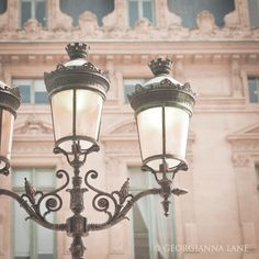 Lamp post at the Hotel de Ville, Paris