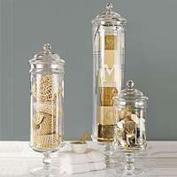 Love this idea! Found similar cylinders but with votive candles on top!