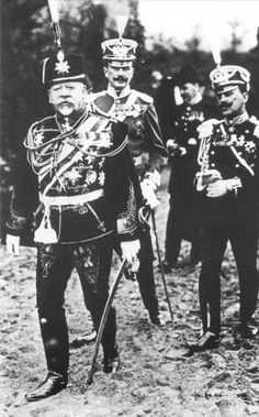 An poster sized print, approx (other products available) - Vladimir Sukhomlinov - Russian General (front left), War Minister - close advisor to Tsar Nicholas II. - Image supplied by Mary Evans Prints Online - Poster printed in the USA World War One, First World, Old World, Wilhelm Ii, Kaiser Wilhelm, Tsar Nicholas Ii, Military History, Historical Photos, Poster Size Prints