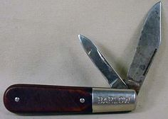 The iconic Barlow knife