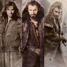 Kili, Thorin & Fili