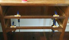 How to fix a broken drawer stop