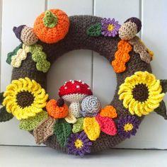 sweetpea family: Just had to share......................... (Diy Wreath Yarn)