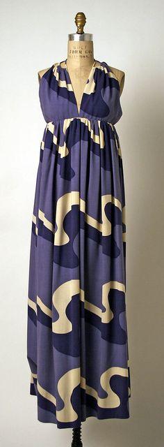 Geoffrey Beene Evening dress, ca. 1969