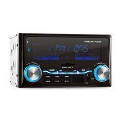auna MD-830 Autoradio USB SD MP3 Bluetooth 3 Farben: Zum vergrößern Bild anklicken!