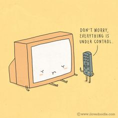 Don't worry, everything is under sontrol.