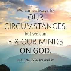 Unglued by Lysa TerKeurst  this one is one I need NOW