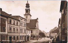 Braunsberg/ Ostpr. / Braniewo. Langgasse. 1932
