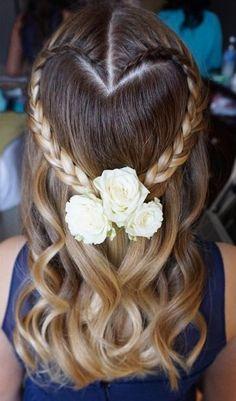 Featured Hairstyle: Heidi Marie Garrett of Hair and Makeup Girl; Wedding hairstyle idea.