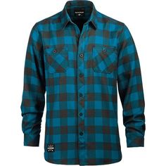 DAKINE Underwood Flannel Shirt (155 BRL) ❤ liked on Polyvore featuring men's fashion, men's clothing, men's shirts, men's casual shirts, mens base layer shirt, mens sports shirts, mens plaid shirts, mens tartan shirt and mens flannel plaid shirts