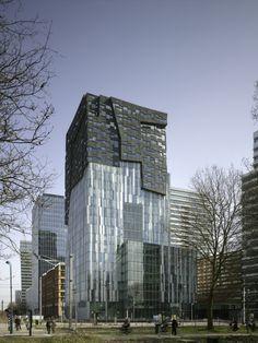 Erick van Egeraat Office Tower / Erick van Egeraat (2)