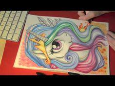 Speed painting/drawing MLP - Princess Celestia