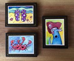 Sparkling Art Block print Set of 3 – Nettie Price Sparkling Art