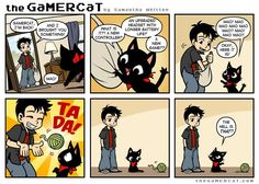 the GaMERCaT :: Best Toy | Tapastic Comics - image 1