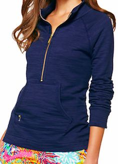 Navy blue pullover - Lily Pulitzer