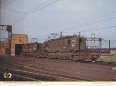 Cleveland Union Terminal eecttric locomotives