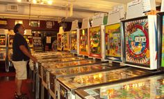 The Silverball Museum - New Jerseys most amazing pinball museum and arcade