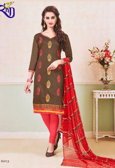 Rasili Vol-6 Heavy Chanderi Suits (13 pc catalog)