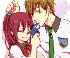 Free! - Makoto and Gou