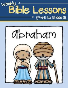 This packet includes activities about the story of Abraham. It covers Abraham leaving Haran, God's promise that Abraham and Sarah would have a son, Abraham's three visitors and the birth of Isaac. Students will read the actual scripture, learn a key verse, complete an activity page, complete interactive notebook pages and do a fun craft!