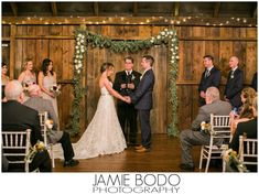 Gathering Room ceremony.  Photo Credit: Jamie Bodo Photography #brandywinemanorhouse Bodo, Bride Gowns, Bride Shoes, Bridesmaid Dresses, Wedding Dresses, Photo Credit, Wedding Ceremony, Wedding Photos, Bridal