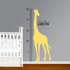 A decorative growth chart is the perfect, unique new baby gift! They look adorable hung up in a nursery and make the sweetest keepsake! I've gathered together my favorite decorative growth charts and am sharing them with you! Come see! Nursery Wall Decals, Vinyl Wall Decals, Baby Shower Fun, Baby Shower Gifts, Baby Gifts, Growth Chart Ruler, Growth Charts, Personalized Wall Decals, Driven By Decor