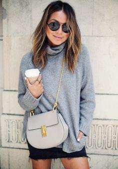 Abbinare il pullover: gonna o pantaloni?