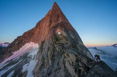 The North East Ridge of Bugaboo Spire Photo by Jacob Moon -- National Geographic Your Shot