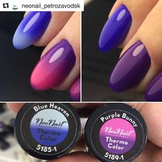 Purple Bunny - Thermo UV Nagellack 6 ml Neonail € € : Purple Bunny - Thermo UV Nagellack 6 ml € € Beauty Shop, Uv Gel, Gel Polish, Hair And Nails, Manicure, Nail Designs, Bunny, Hair Beauty, Nail Art