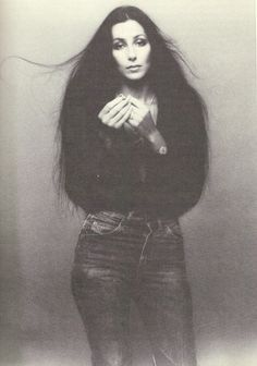 Cher Loved Her Levi 501's -- 1975