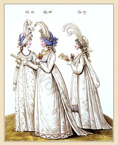 Heideloff's Gallery of Fashion. Vol. 2,. April 1795 To March 1796.