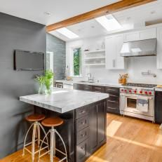 Image result for kitchen with peninsula