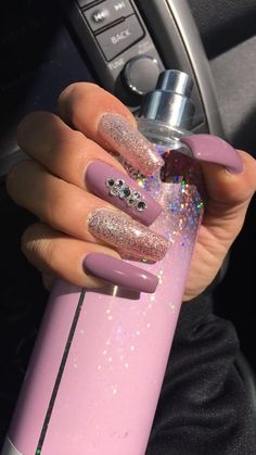 A manicure is a cosmetic elegance therapy for the finger nails and hands. A manicure could deal with just the Dope Nails, Fun Nails, Pretty Nails, Winter Nails, Spring Nails, Summer Nails, Acrylic Nail Designs, Nail Art Designs, Acryl Nails