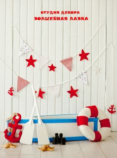 Sailor Party, Sailor Theme, New Years Decorations, Birthday Decorations, 1st Birthday Photoshoot, Nautical Party, Digital Backdrops, Baby First Birthday, Photography Backdrops
