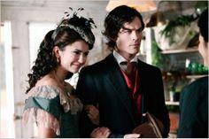 Crónicas vampíricas : foto Ian Somerhalder, Nina Dobrev