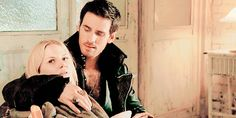 The way he's looking at her >>>> I freaking love them this season! It's too damn cute.