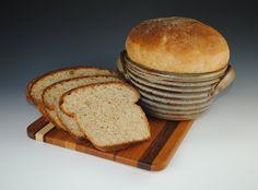 Stoneware Bread Crock | Pottery Bread Baker, Bread Crock -12 RECIPES Included - The Original ...